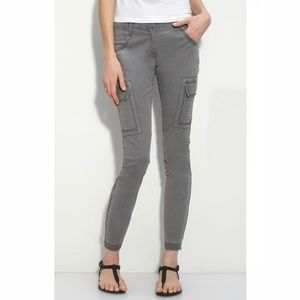Eileen Fisher Ankle Length Skinny Cargo Pants
